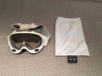 Oakley A-Frames - Shawn White with clear lens
