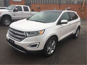 2017 Ford Edge ADAPT CRSE, NAV, PANROOF, LOW KM's!