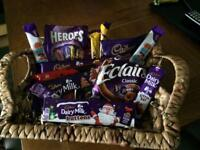 A medium sized Cadburys hamper for all you Cadburys lovers