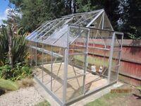 Aluminium Greenhouse - Halls Magnum 12ft x 8ft