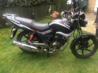 Kymco motorbike