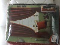 Curtains 100% cotton 66 x 90 Atlanta spice