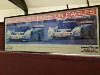 Jaguar Framed promotion picture