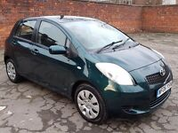 TOYOTA YARIS NEW SHAPE 1.0 LITRE 5 DOOR 2006 T3 MODEL, FULL TOYOTA SERVICE HISTORY, 2 LADY OWNERS