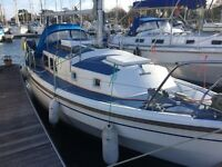 Westerley Centaur motor sail