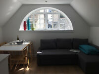 Lovely and light holiday flat in unique conversion in East Lothian