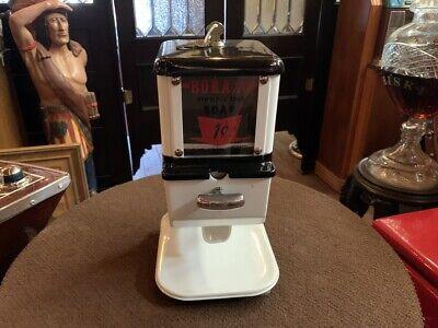 "1950's 1 Cent BORAXO Hand Soap Dispenser Vending Machine  ""Watch Video"""