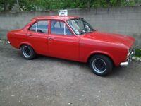 Classic car Escort mk 1, 1971 tax exempt lhd. Good investment.😩 never been welded.