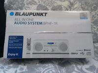Blaupunkt All In One Audio System BPHF-1R Wireless Bluetooth Speaker
