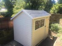 Garden sheld 240- 150  . 158