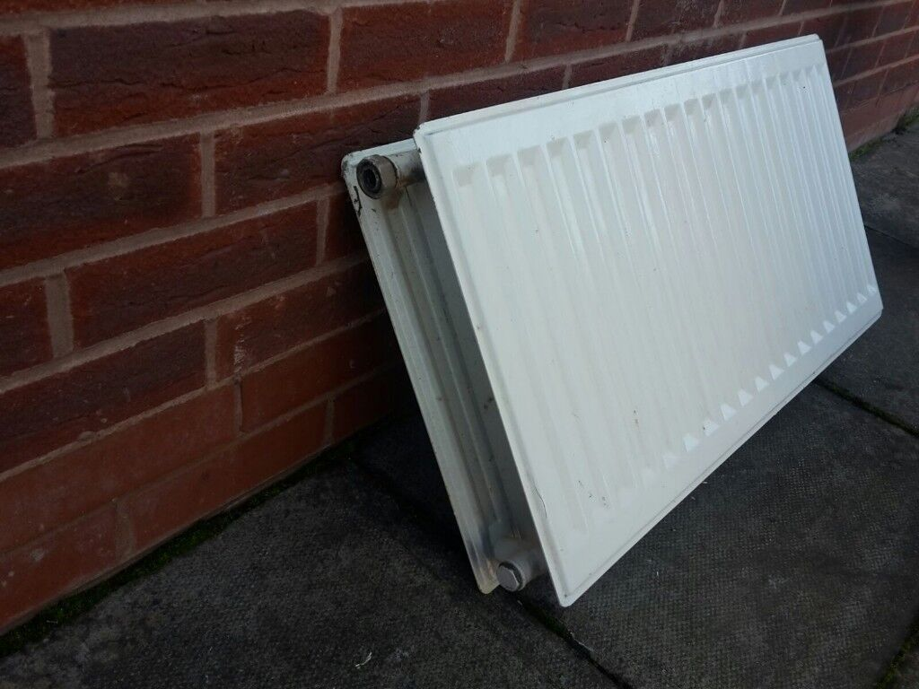 DOUBLE PANEL CENTRAL HEATING RADIATOR 79CM WIDE 41cm HEIGHT - can ...