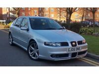 2005 Seat Leon 1.8 20v Turbo FR 5dr **F/SEAT/S/H+CAMBELT DONE+HIGH SPEC**
