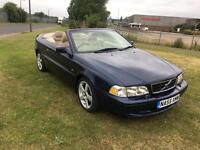 55 REG VOLVO C70 2.0 T GT 2DR-12 MONTHS MOT-HEATED LEATHER-ELECTRIC ROOF-LOOKS AND DRIVES GREAT
