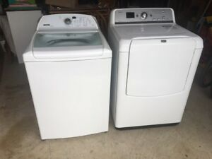 Maytag XL Washer & Dryer