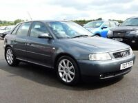 2003 Audi A3 1.8 turbo sport with only 56000 miles, motd until july 2017 very tidy example