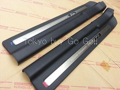 Toyota MR2 MR-S Roadster Spyder ZZW30 Front Door Scuff Plate set Genuine Parts