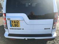 Land rover discovery 4 2012 in White