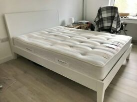 Ikea King size bed with headboard