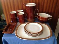 Vintage breakfast set