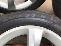 Genuine Mercedes alloys and tyres