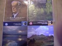 Decca Classical Albums x 4 Vintage. Retro. 12'' 33 rpm. Vinyl. Pierre Monteux, Sir Adrian Boult,....