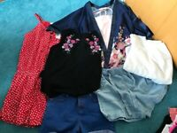 Girls age 10-12 clothes- holiday