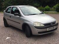 QUICK SALE WANTED! Vauxhall Corsa 1.0 Club Petrol Manual 3door