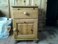 solid pine cabinet (dovetail joints)