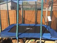 Jumpking 9ft x 6ft Trampoline **Great condition**
