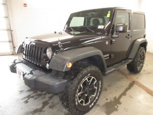 2015 Jeep Wrangler Sport- 4x4! ALLOY WHEELS! ONLY 25K!