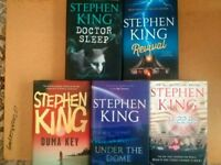 Stephen King hardback novels