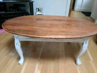 Hand Decorated Shabby Chic Coffee Table