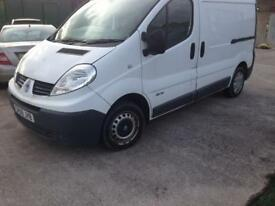 2009 09reg Renault Traffic 2.0 Dti White Swb Van