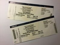 2 tickets for Jaws in Concert. York Barbican. This Sunday!