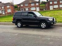 Toyota Land Cruiser Amazon 4.7 v8 LPG not Land Rover defender shogun prado Nissan patrol discovery