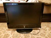 "22"" HD LCD TV BUILT IN DVD FREEVIEW"