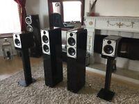 Fabulous Q Acoustics Concept 20 and 40 surround system