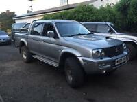 Mitsubishi l200 warrior