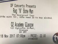 ***SWAP*** 4x tickets for Rag n Bone man