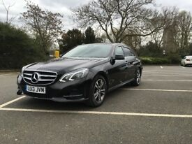2013 Mercedes Benz E class E220 CDI SE. intelligent lights