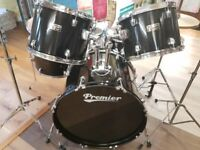 Premier Olympic Drum Kit Piano Black