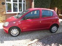 """IMMACULATE LOW MILEAGE """"5 DOOR"""" TOYOTA YARIS 1.0 VVTi COLOUR COLLECTION """"LOW INSURANCE"""""""
