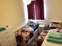 PERFECT CHOISE FOR FRIENDS! BETHAL GREEN - TWIN ROOM IN NICE HOUSE AT MACE ST