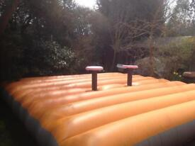 Gladiator Dual Bouncy Castle
