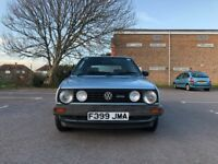 Volkswagen Golf 1.6 Driver 79000 long MOT and Full Service History own a part of history £2995