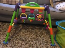 Baby / Toddler Sit to stand activity frame
