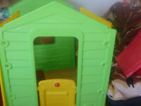 Sizzlin' Cool Meadow Cottage Toy Play House Playhouse new other