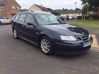 2006 Saab Estate, long MOT, sun-roof, nice and tidy!