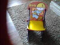 childrens furniture bob the builder rocking chair