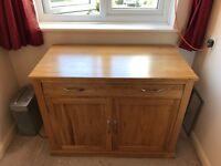 Solid pine furniture, hidden office computer desk